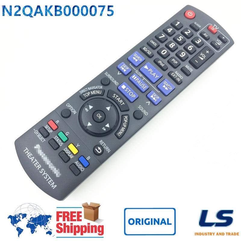 [ ORIGINAL ] N2QAKB000075 Remote Control FIT FOR Panasonic SC-BTX75 SA-BT203 SA-BT300 SA-BTX20 <font><b>Blu-ray</b></font> <font><b>Disc</b></font> <font><b>Home</b></font> Theater System