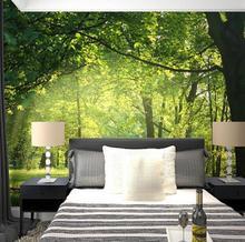 3D  Wallpaper Natural Scenery Wall
