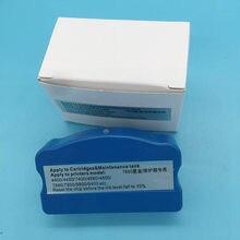 1 pcs Resíduos Do Tanque de Tinta Resetter Chip Para Ep-on 11880 11880C 7900 9900 7880 9880 7800 9800 7450 9450 Cartucho de Tanque de Manutenção