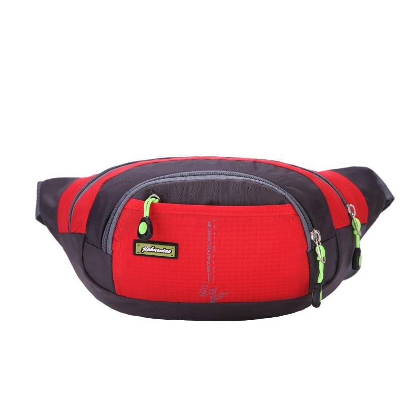 High quality colorful fashion panelled shapel waist packs women men phone money bag belt pillow fanny bag waterproof waist bags colorful striped high waist dress