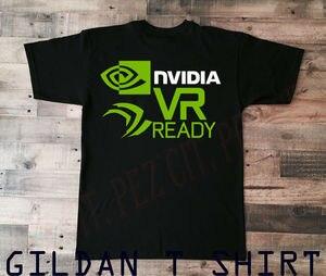 VR_new GTX 1080 G1 Gaming wysokiej jakości AMD Intel NVIDIA dla mężczyzn koszulka GeForce T Shirt rabat 100% bawełna T Shirt dla mężczyzn