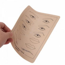 Top Quality Permanent Makeup Eyebrow Lips Tattoo Practice Skin Training Skin Set For Beginners