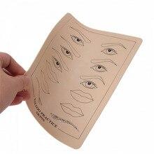 Начинающих перманентный практика губы бровей обучение кожи татуировки макияж набор для