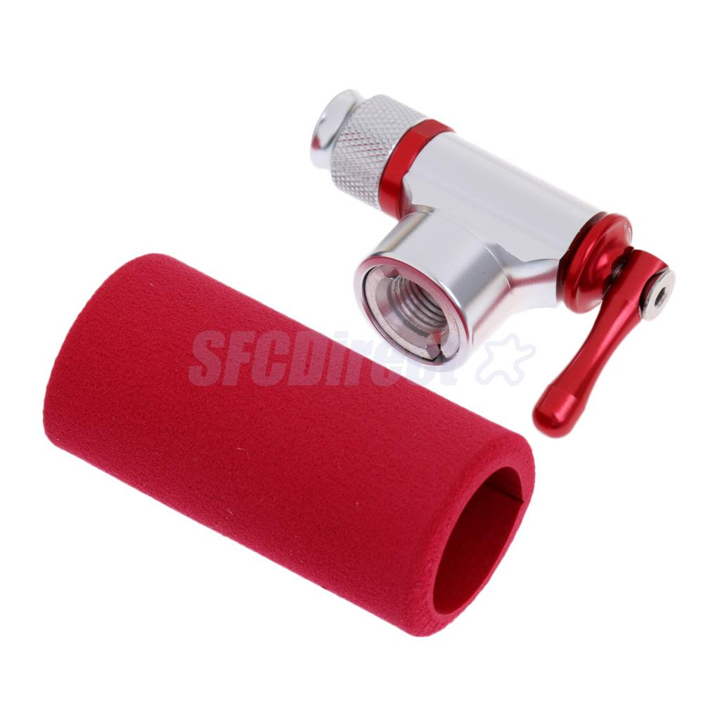 Bike Bicycle CO2 Air Pump Inflator without CO2 Cartridge Valve Core Remover