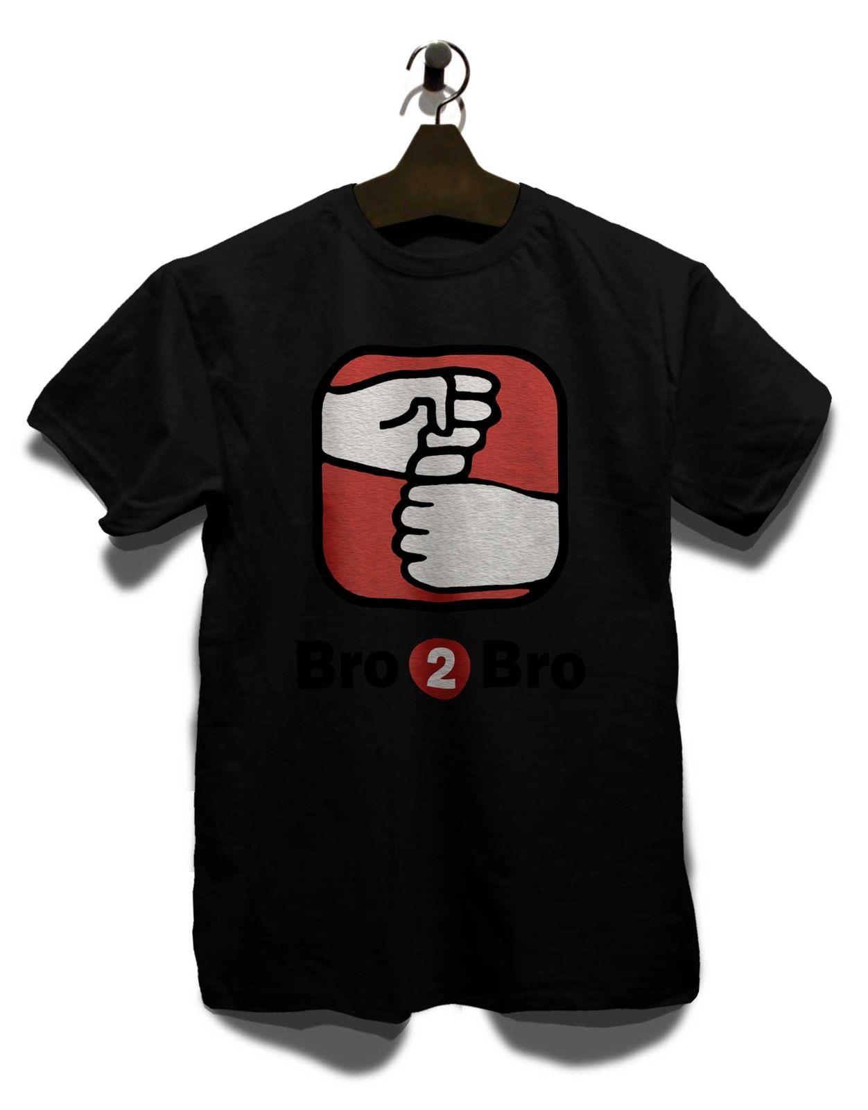 Bro 2 Bro T Shirt Valley Neu Silicon Geek TV Serie Nerd