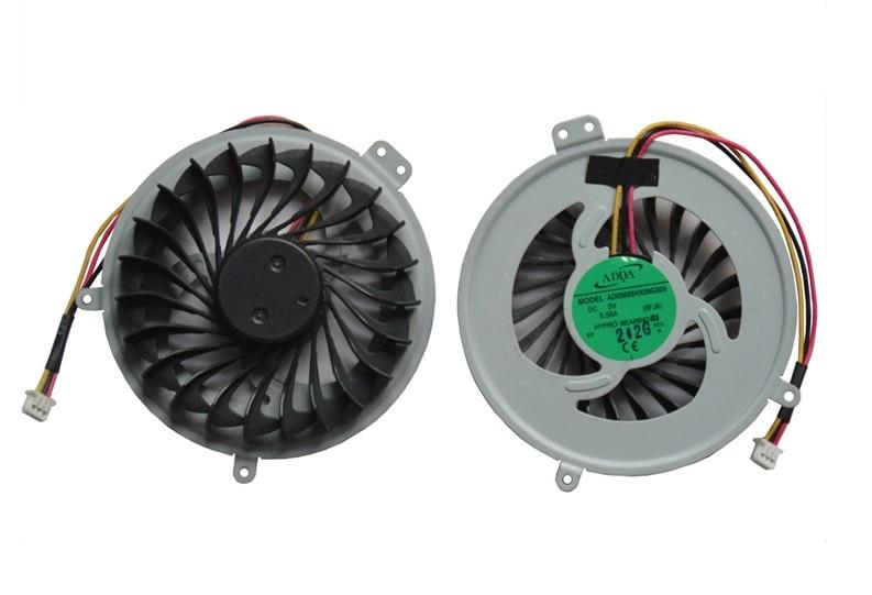 SSEA Nuevo ventilador de CPU para Sony SVE15 SVE151100C SVE1511SAC Portátil CPU Ventilador de enfriamiento N / P: AD05605HX09G300 0FJ8