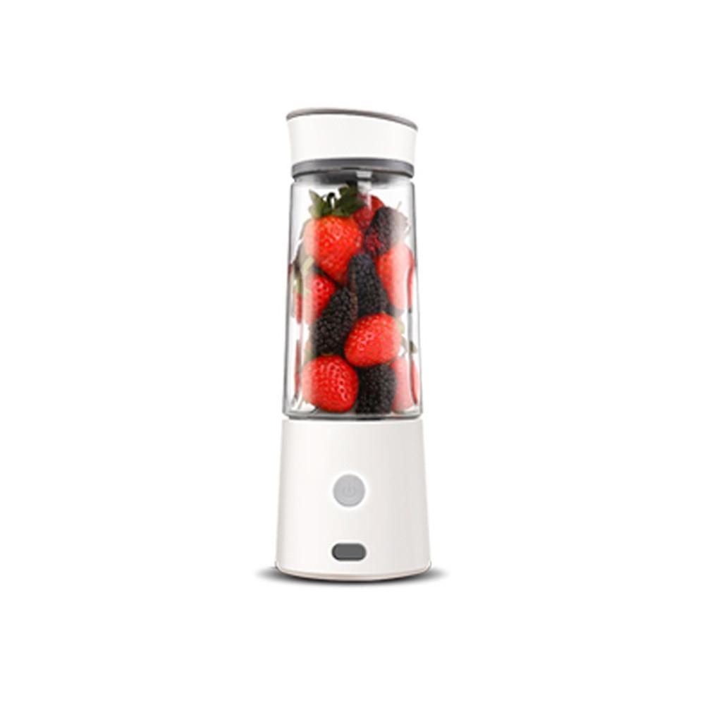 400ML Portable Juice Press Charged Juice Cup Mixer USB Mini Home Juice Press
