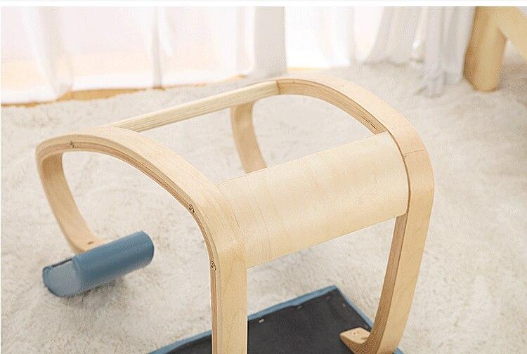Originale ergonomica sedia inginocchiata sgabello seduta in pelle