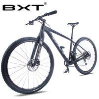 BXT 29inch Bike New Full Carbon Mountain Bicycle 29er Axle Thru Frame 11*1 Speed T800 MTB Bike Disc Brake Carbon Fiber Cycling