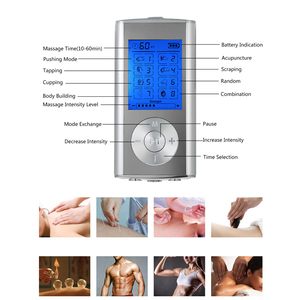 Image 5 - Carevas Massager Rechargeable Electric Pain Relief Machine 8 Modes Tens Unit Portable Pulse Massager Muscle Stimulator Therapy