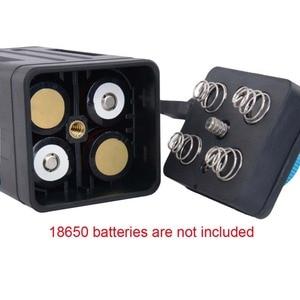 Image 2 - 8.4V Impermeabile Usb 4X18650 Batteria di Caso di Immagazzinaggio Box per La Bici Ha Condotto Smart Phone