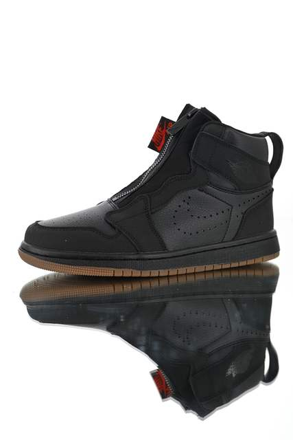 b8a0a92020 Original New Arrival Official Hot Sales Nike Air Jordan 1 High Zip AJ1  Men's Breathable Basketball Shoes Sneakers