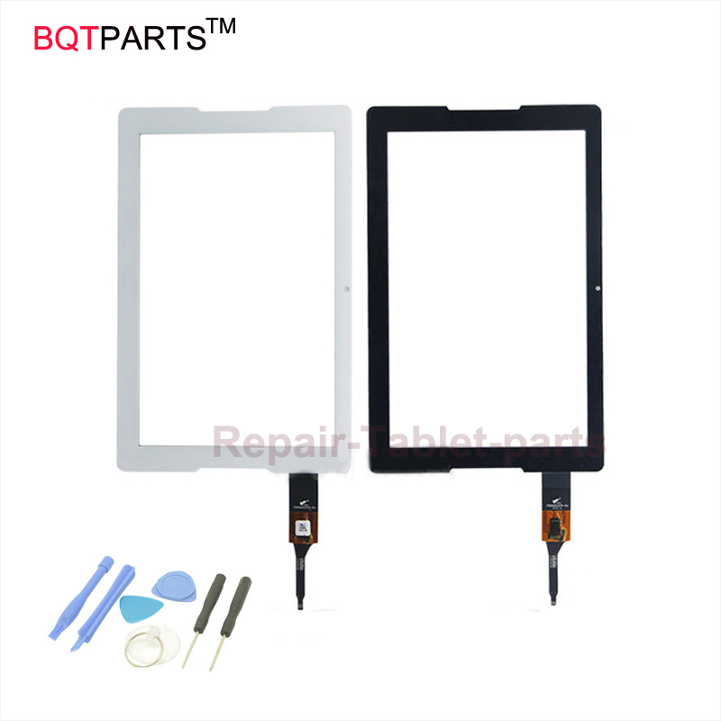 BQT 10.1 inch Touch Screen for Acer Iconia One 10 B3-A20  Front Sensor Touch Screen Panel Digitizer replacement with free tool 10 1inch for acer iconia one 10 b3 a10 tablet pc touch screen panel digitizer glass sensor replacement