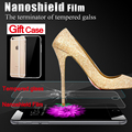 Nanoshield anti-choque protetor de tela para apple iphone 6 6 s escudo invisível anti-shatter film protetora para iphone 6 6 s i6
