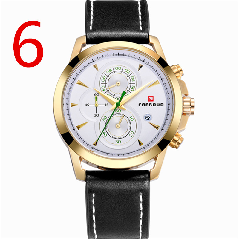 men New Fashion Watch Leather Band  Concise Casual Luxury Business Wristwatch men New Fashion Watch Leather Band  Concise Casual Luxury Business Wristwatch