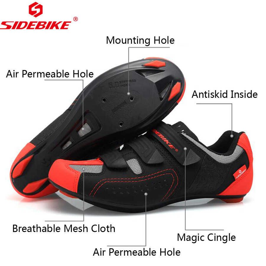 KINGBIKE New bicycle shoe cover Waterproof windproof cycling overshoes Winter warm size 40-46eur mountain road riding shoe cover