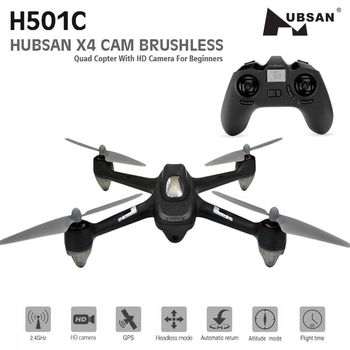 Original Hubsan H501C X4 Brushless Cam Drone With 1080P HD Camera GPS Altitude Hold Mode RC Quadcopter RTF 1