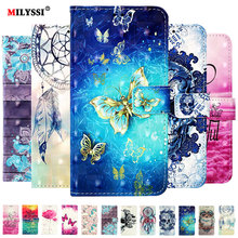 Flip Case For Samsung galaxy A10 A20 A30 A40 A50 S A70 A7 2019 Wallet Case Leather Phone Case Coque For Samsung galaxy M30 A10 tanie tanio MILYSSI Floral cute Glossy Business Plain Patterned Animal Exotic Abstract GALAXY A SERIES 3D Painted PU Leather Flip Case