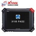 Pad2 xtool original x100 auto programador chave apoio obd2 epb eps odômetro OilRst TPMS TPS X100 PAd 2 Melhor do que o X300 pro3