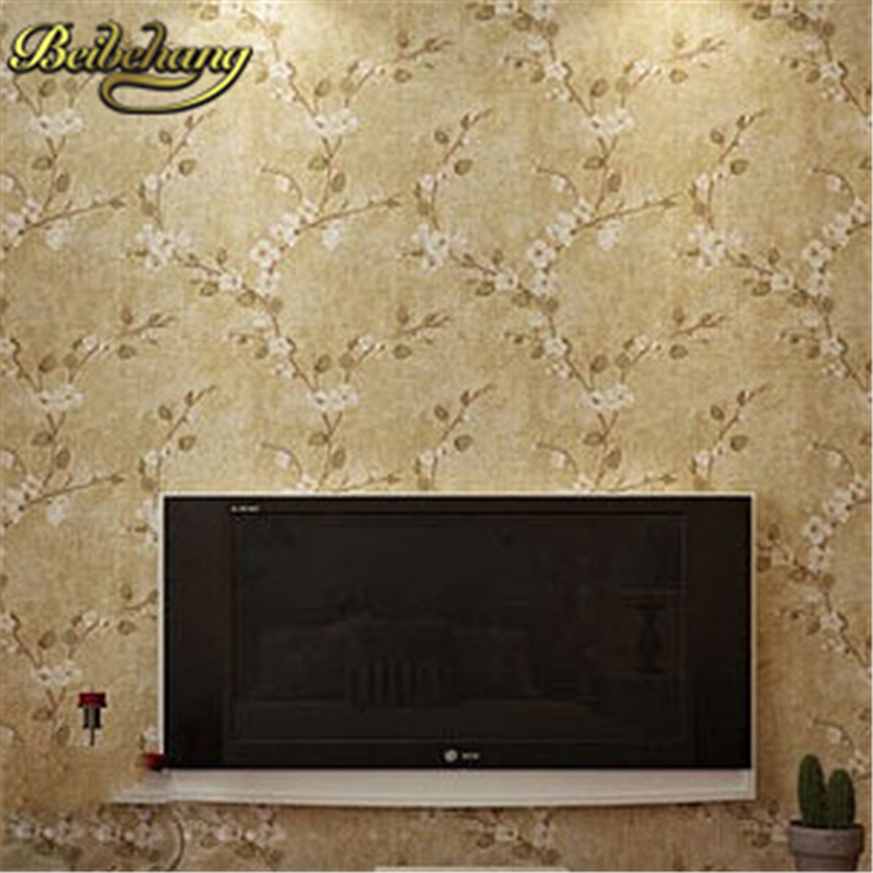 beibehang flower wallpaper for walls 3 d Pastoral Wall covering papel de parede 3d wall paper background home decor papel parede крис де бург chris de burgh far beyond these castle walls