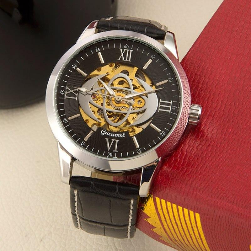relogio masculino Men Watches Top Brand Luxury Fashion Casual Business Quartz Watch Men Sport Leather Belt Waterproof Wristwatch