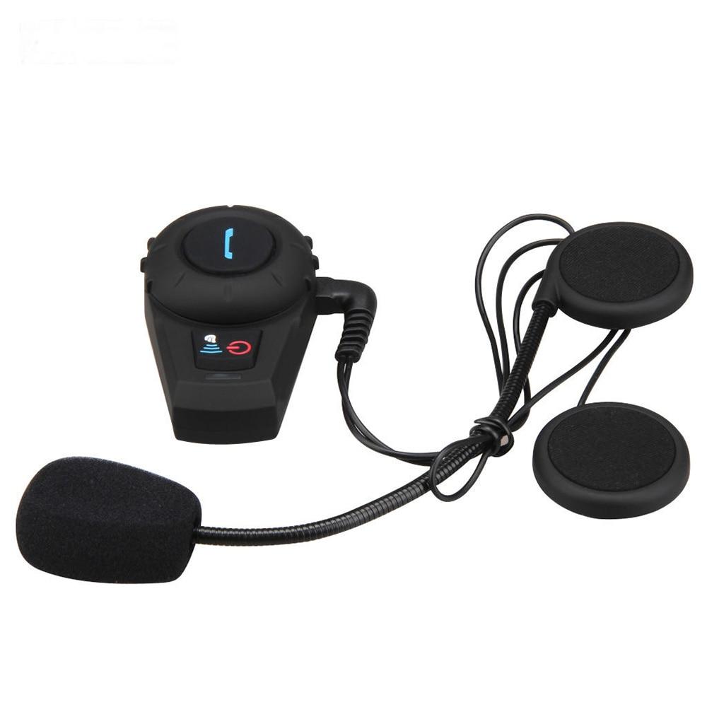 HOT-2x Bluetooth 500M 2 Riders BT Interphone Motorcycle Bike Helmet Intercom Headset 1000m motorcycle helmet intercom bt s2 waterproof for wired wireless helmet