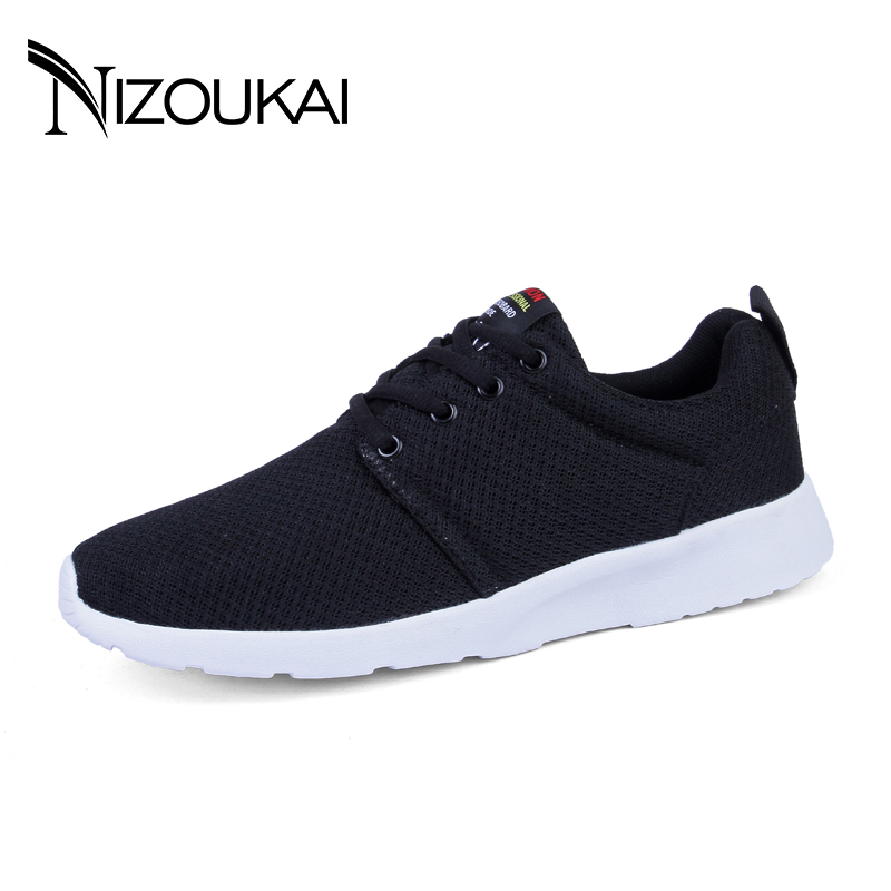 2018 Mens Casual Shoes Hot Sale Fashion Mesh Breathable Spring/Autumn Casual Shoes For Men Plus Size 35-47 Male shoes adult free shipping men fashion mesh casual shoes lacing platform spring autumn shoes male outdoor shoes size 39 44