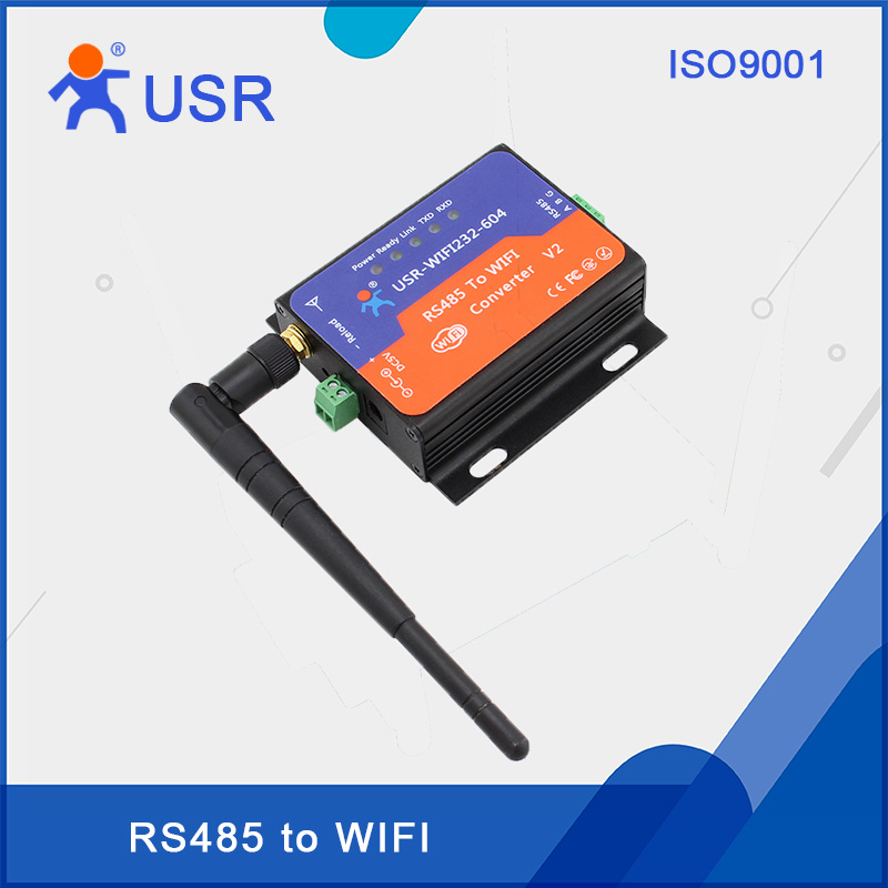 ФОТО USR-WIFI232-604-V2 RS485 to WiFi Server Serial Device Server with CE FCC RoHS certificate