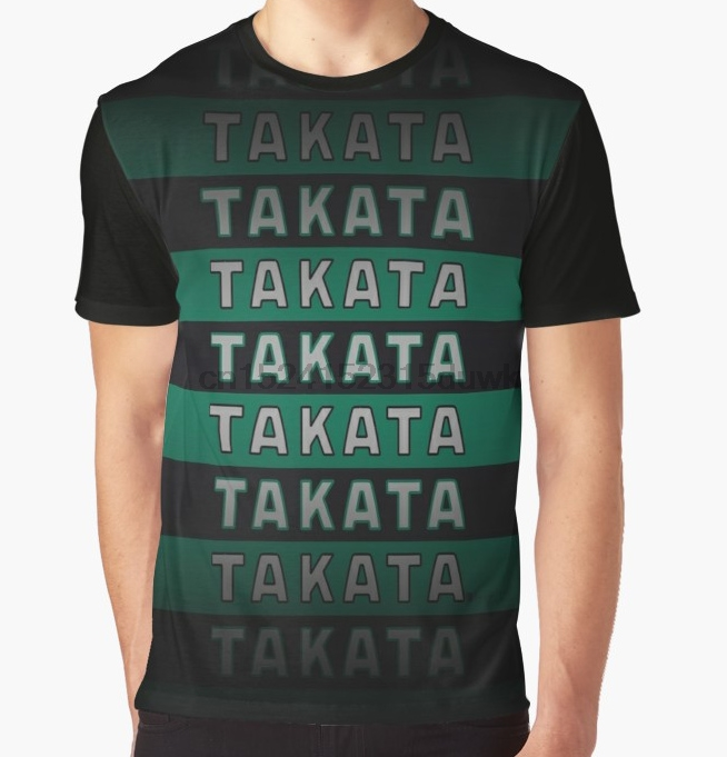 All Over Print T-Shirt Men Funy Tshirt Takata HQ Short Sleeve O-Neck Graphic Tops Tee Women T Shirt