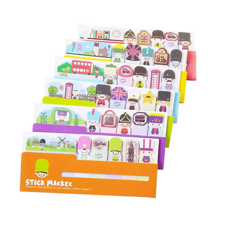 30 Pack/lot Cute Soldier N Times Sticky Notes Memo Pad Paper Sticker Post It Notepad Gift Office Stationery Book Labels