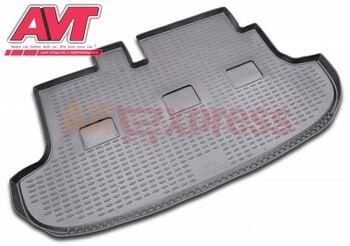 Коврики для багажника Hyundai H-1 1997-2007 1 шт. резиновые коврики Нескользящие резиновые аксессуары для интерьера автомобиля