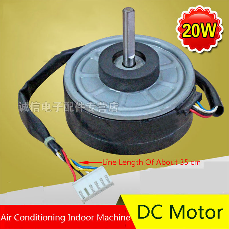 Original For Midea 20W Air Conditioning Fan DC Motor Air Conditioning Parts 95% new original for midea air conditioning fan motor ydk36 4c a ydk36 4g 8 4g 8 36w direction of departure