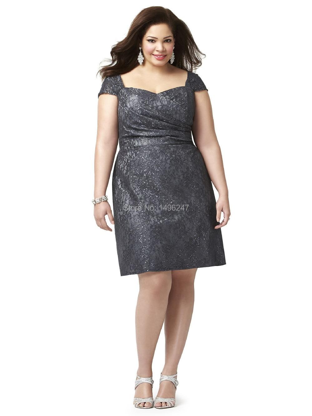 Plus Size Dresses Short Bridesmaid