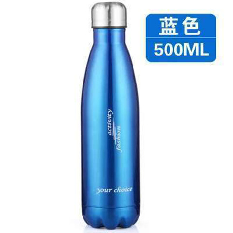 Large Capacity Stainless Steel Sports Water Bottle Strong Vacuum Cup Outdoor Sports Bottle Coke Bottle Islamabad