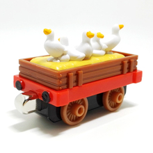 m013 New diecast magnetic Thomas and friend Children s font b toy b font train Farm