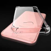 Voor Samsung Galaxy S8 S9 Plus On7 A3 A5 Ster Note9 Crystal Clear Shockproof Cover Transparante Tpu Cases Voor samsung