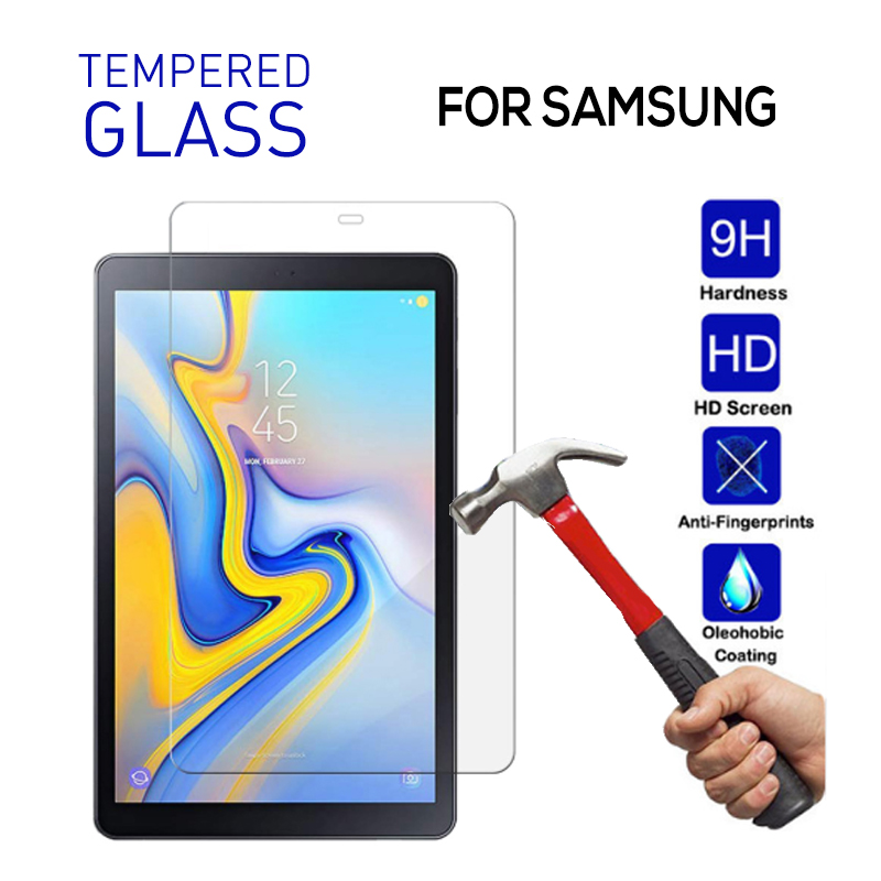 Tempered Glass for <font><b>Samsung</b></font> <font><b>Galaxy</b></font> <font><b>Tab</b></font> <font><b>A</b></font> 10.5 2019 <font><b>7.0</b></font> 8.0 9.6 <font><b>Screen</b></font> <font><b>Protector</b></font> Active 2 <font><b>Tab</b></font> <font><b>A</b></font> 10.1 T580 T350 T380 T560 T377 Film image