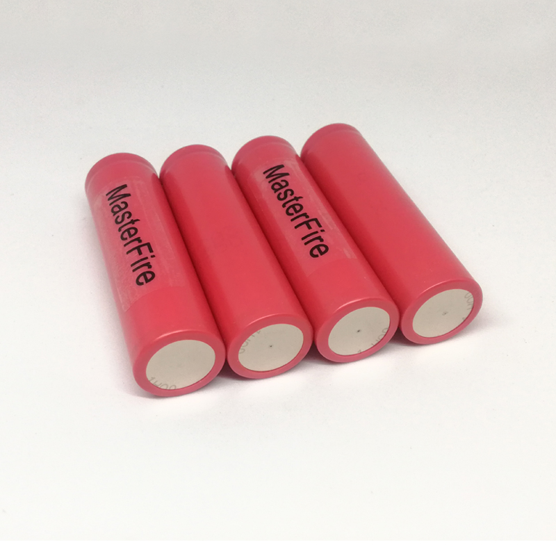 MasterFire 4PCS PCS New Genuine Sanyo UR18650w2 1500mAh 3 7V 18650 Lithium Battery Rechargeable Batteries For Flashlight Torch in Rechargeable Batteries from Consumer Electronics