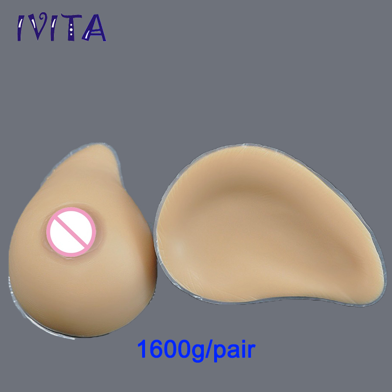 1600g/pair Sudan Realistic Medical Breast Prosthesis Fake Boobs Artificial Breast Silicone Fake Breast Mastectomy