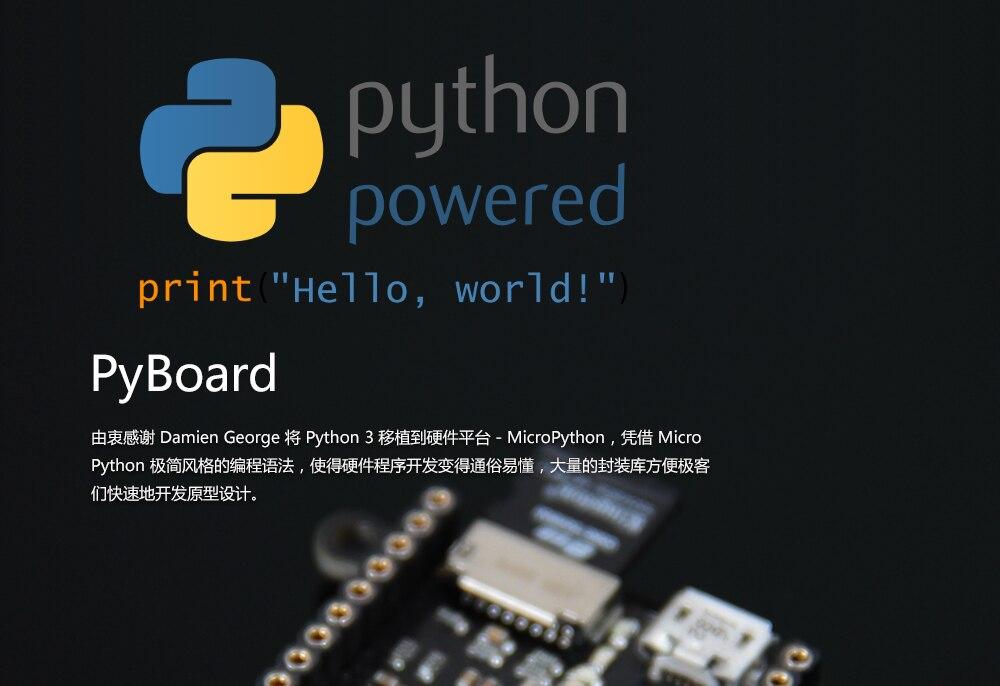PyBoard Nova Versão Python Python 3 Ferramenta de Programação