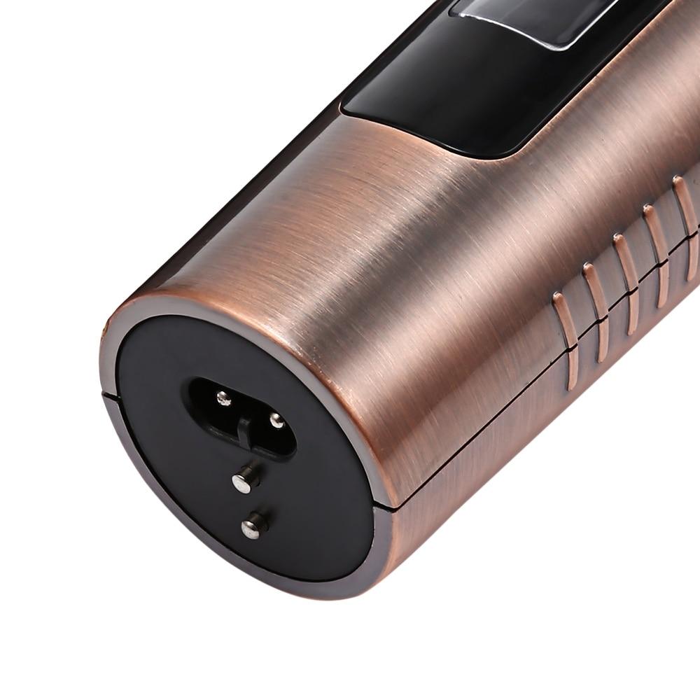 Kemei-7500 professionnel tondeuse à cheveux tondeuse Rechargeable tondeuse à barbe 10 vitesses pour hommes électrique coupe cheveux outil de coupe - 4