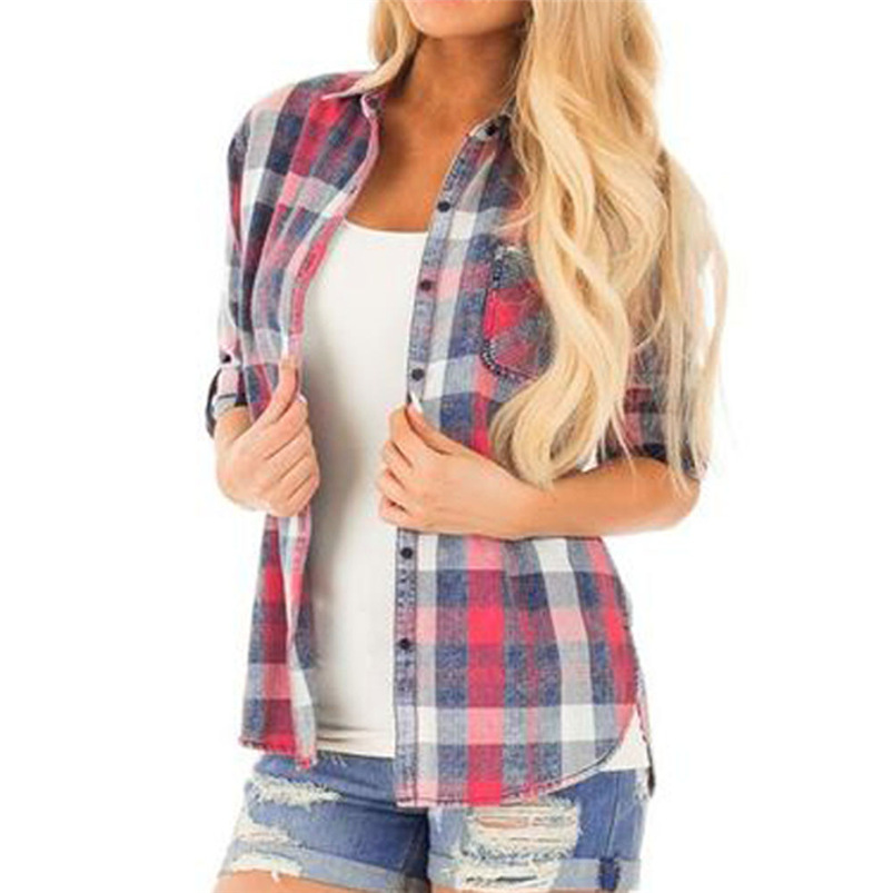 Alert Womens Long Sleeve Blouse Lattice Button Casual Tops Shirt Loose Plus Size Blouse Women Blusas Mujer De Moda 2019 Dropshipping Women's Clothing