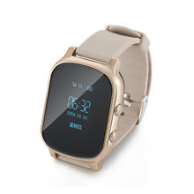 GPS Tracker baby smart watch For Kids Children Adult Support SIM Card Answer Call Push Message For Android iOS(China)
