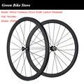 700C карбоновые колеса 38 мм  бескамерная дорожная велосипедная карбоновая колесо 25 мм  колеса для велосипеда Novatec 271