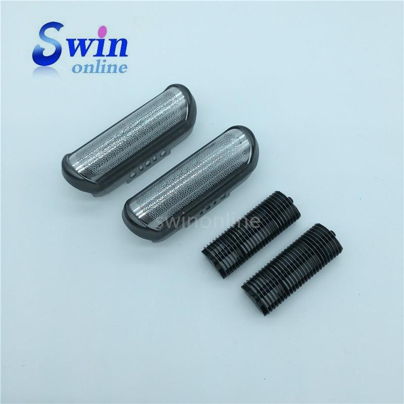 10B/20B Shaver 2x Foil and 2x blade for BRAUN CruZer3 Z4 Z5 180 190 1735 1775 Z40 1000 shaver razor цена