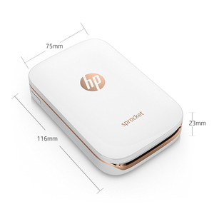Image 3 - 미니 포켓 포토 프린터 휴대 전화 블루투스 휴대용 프린터 미니 홈 스프로킷 hp zink 포토 용지 인쇄 잉크 없음