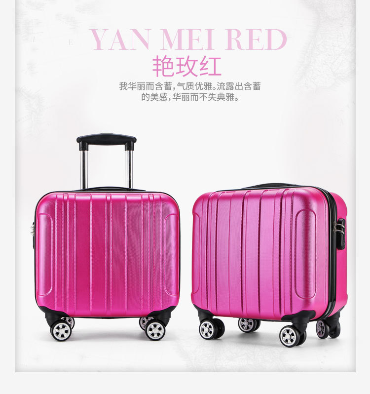 Hardside Luggage Luggage & Bags United Hot Sell 16 Inch Rolling Luggage Suitcase Boarding Case Travel Luggage Spinner Cases Trolley Suitcase Wheeled Case Lgx33