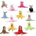 Frete grátis animais manto de modelagem bebê roupão/bebê dos desenhos animados towel/personagem crianças roupão de banho/toalhas de banho infantil b1trq0005