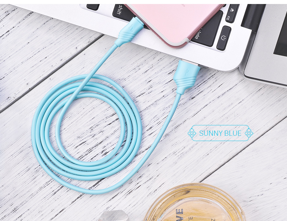 HOCO 2.4A Fast Charging USB Cable For Apple-Plug Charger For Apple iPhone iPad Data Cord for Mobile Phone Data Line Sync Wire 15
