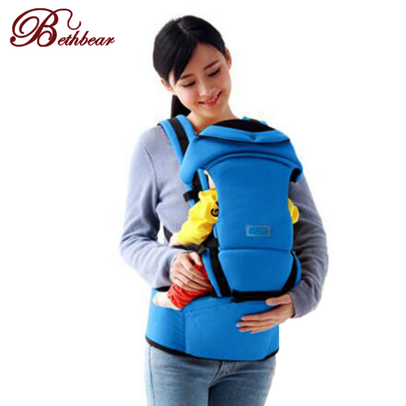 Bethbear 3 in1 baby carrier hipseat 4 ways Cotton kangaroo baby backpack baby sling for 0-36 month Pops Toddler suspender free shipping 4 in 1 soft structured baby carrier 15 colors baby carrier 15 kinds baby sling baby pouch